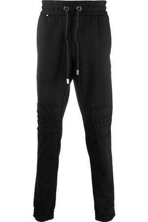 Philipp Plein Biker track trousers
