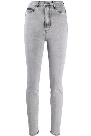 Philipp Plein High-rise skinny jeans - Grey