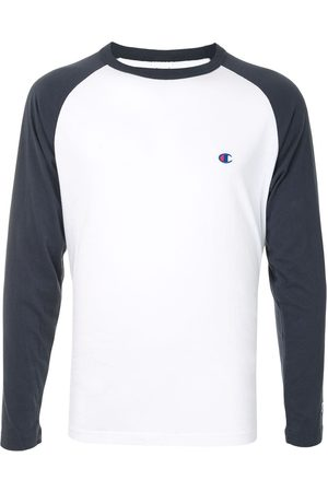Champion Colour block embroidered logo T-shirt