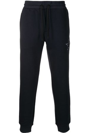 Emporio Armani Star embroidered track pants