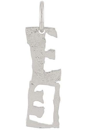 Acne Studios E-pendant single earring