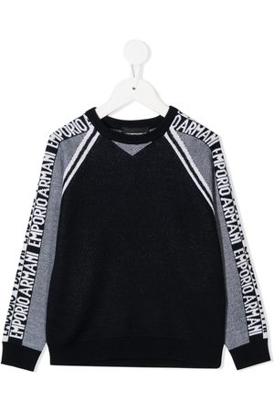 Emporio Armani Long-sleeved logo jumper