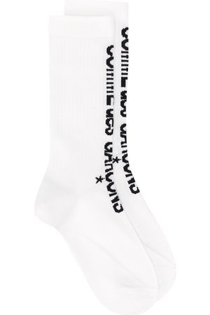 Comme des Garçons Logo print socks