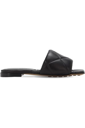 Bottega Veneta 10mm Leather Slide Flats