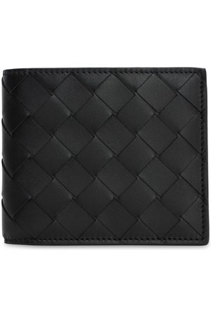 Bottega Veneta Men Wallets - Intrecciato Leather Billfold Wallet