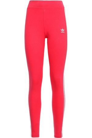 adidas 3 Stripes Tight Cotton Leggings