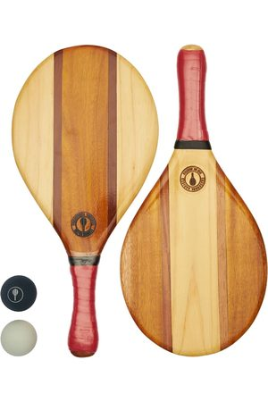 Frescobol Carioca Trancoso Recycled Wood Beach Bat Set