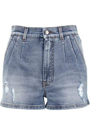 Dolce & Gabbana High Waist Cotton Shorts