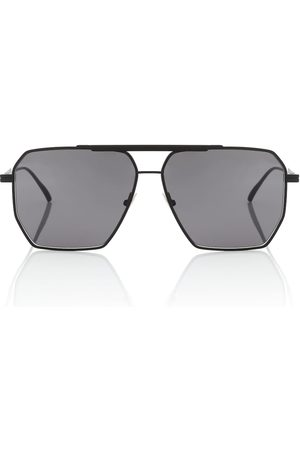 Bottega Veneta Square aviator sunglasses