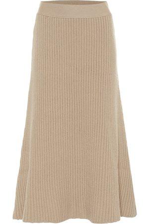 Bottega Veneta Wool-blend midi skirt
