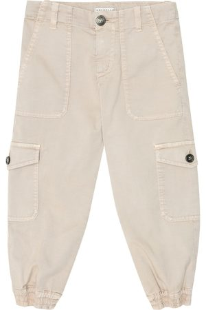 Brunello Cucinelli Stretch-cotton cargo pants
