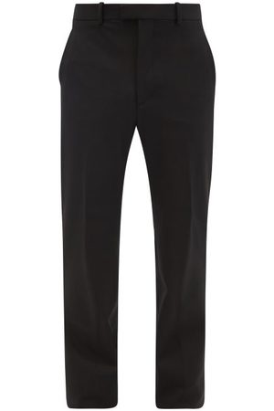 Bottega Veneta Twill Straight-leg Trousers - Mens