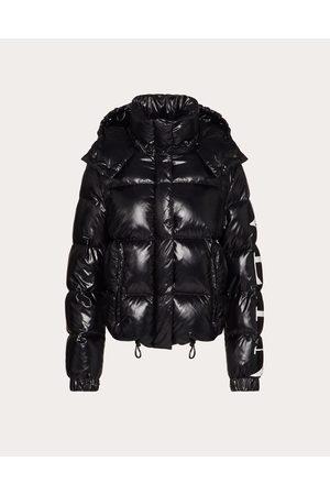 VALENTINO Vltn Nylon Lakké Padded Jacket Women / 100% Poliammide 38