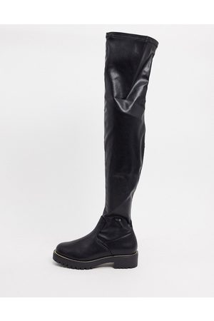 ASOS Kate flat over the knee boots in