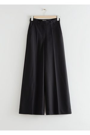& OTHER STORIES Wide Press Crease Trousers