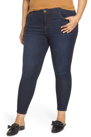 Wit & Wisdom Women High Waisted - Plus Size Women's Ab-Solution High Waist Skinny Ankle Jeans