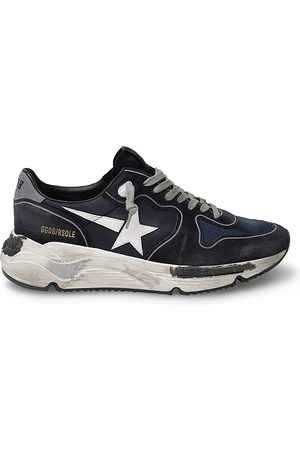 Golden Goose Unisex Running Sole Lace Up Sneakers
