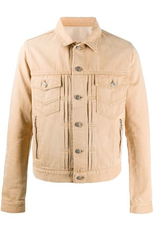 Balmain Buttoned denim jacket - Neutrals