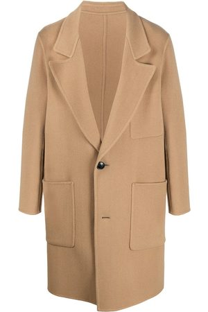 Ami Men Coats - Unstructured two-button coat