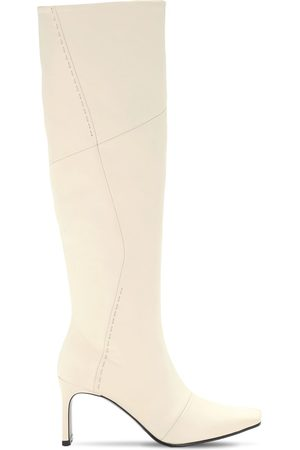 Reike Nen 80mm Stitched Leather Tall Boots