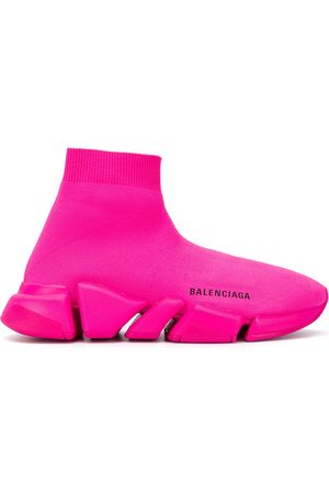 Balenciaga Women Flat Shoes - Slip-on sock trainers