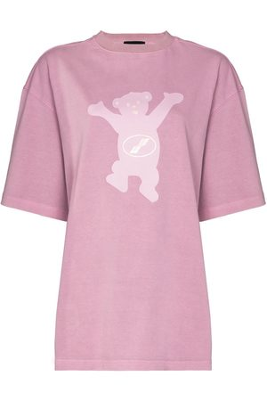 We11 Done Women T-shirts - Teddy print T-shirt