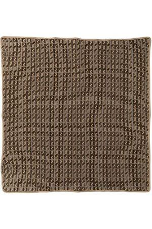 Fendi FF-logo scarf - Neutrals
