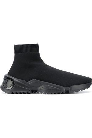 Salvatore Ferragamo Stretch-knit sneakers