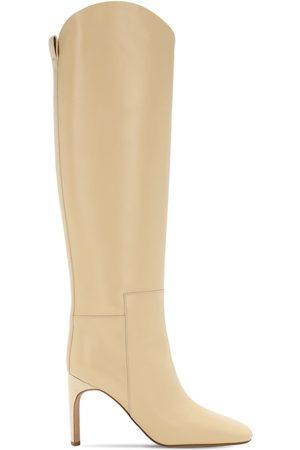 Jil Sander 90mm Leather Tall Boots