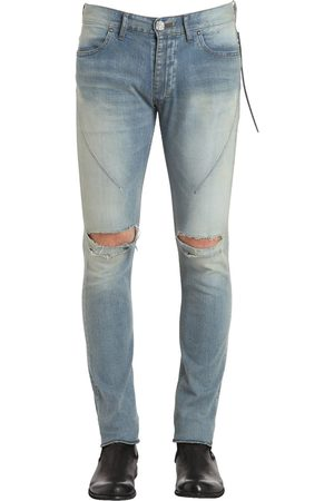 SEIGEKI 16cm Skinny Crash Denim Jeans