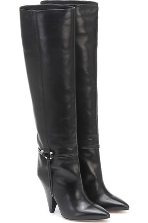 Isabel Marant Lazu leather knee-high boots
