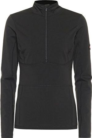 JET SET Underwear half-zipped shell jacket