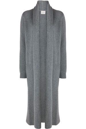LE KASHA Italy open-front cardi-coat - Grey