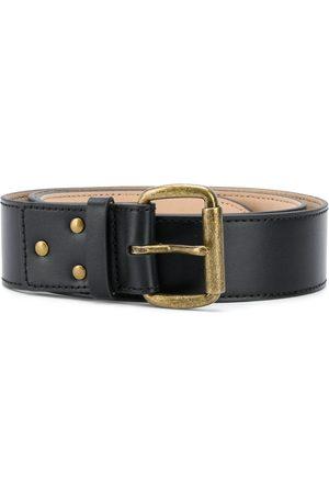 Acne Studios Belts - Debossed-logo leather belt