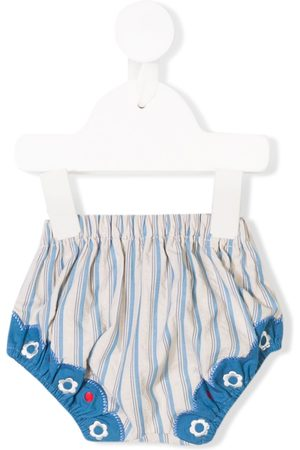 KNOT Saudade striped bloomers - Neutrals