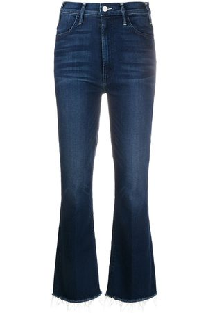 Mother Women Bootcut - Boot cut faded jeans