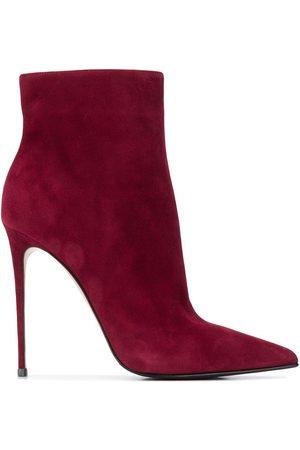 LE SILLA Eva suede ankle boots