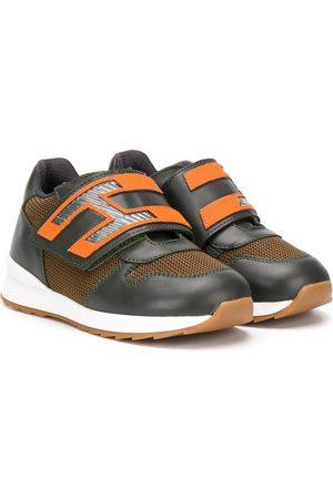 Hogan Woven panel sneakers
