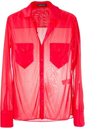 Kwaidan Editions Semi-sheer long-sleeve shirt