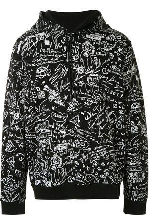 MARCELO BURLON Scribble print hoodie