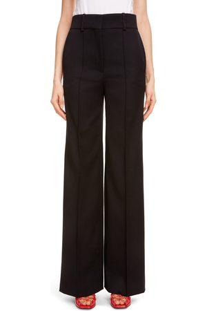 Givenchy Women's High Waist Wide Leg Pants