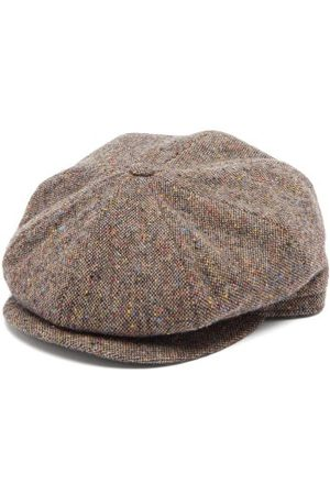Lock & Co Hatters Men Caps - Tremelo Wool-tweed Flat Cap - Mens - Multi