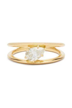 Jade Trau Sadie Diamond & 18k Solitaire Ring - Womens