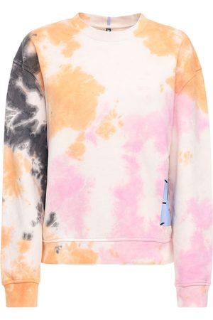 McQ Genesis Ii Tie Dyed Cotton Sweatshirt