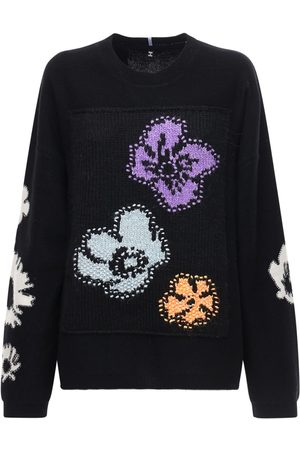 McQ Genesis Ii Patched Wool Blend Sweater
