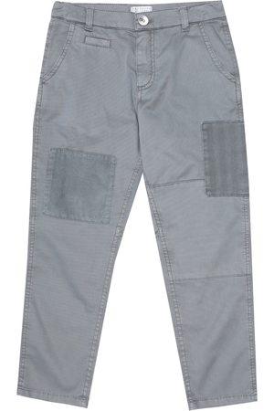 Brunello Cucinelli Slim stretch-cotton pants