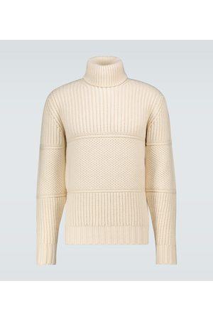OFFICINE GENERALE Multi-stitch turtleneck sweater