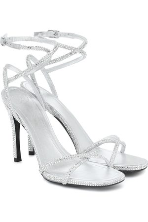 VALENTINO GARAVANI Upflair 105 embellished leather sandals