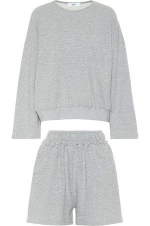 Frankie Shop Jaimie sweatshirt and shorts set