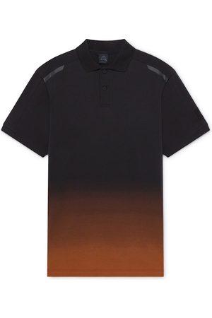 Hackett Aston Martin Racing Pro Fade Short Sleeve Polo Shirt L / Orange